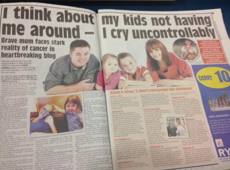 Katie Scarbrough - Birmingham Mail 19 March 2013